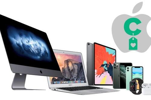 Los iPhone, iPad, Apple Watch, AirPods y Mac más baratos de la red los puedes encontrar aquí, en nuestras ofertas en dispositivos Apple de la semana