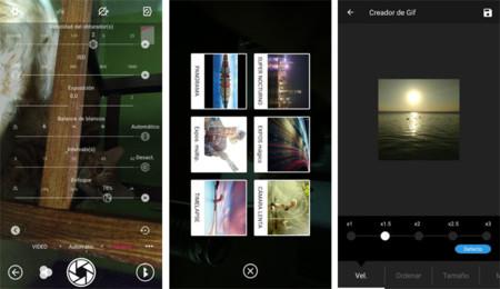 ZTE Axon 7: interfaz de la app de cámara