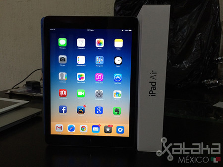 iPad Air, primer contacto
