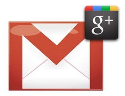 Gmail y Contactos se integran con Google+