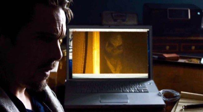 Imagen del misterioso hombre del saco de 'Sinister'