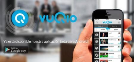 Vuqio, centraliza toda la actividad social de un programa de televisión en tu móvil