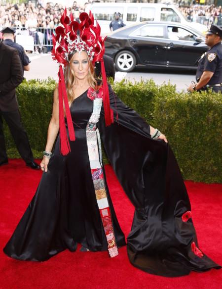 Sarah Jessica Parker Gala Met 2015 Look