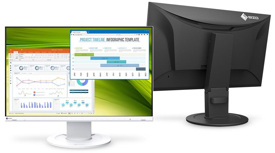 EIZO anuncia dos nuevos monitores todoterreno para su gama FlexScan que llegarán con paneles LCD IPS Full HD