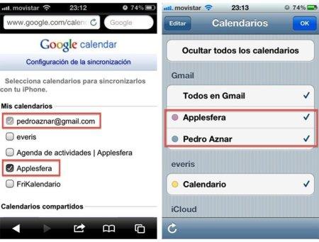Anadir Calendario Iphone.Como Configurar Y Sincronizar Correctamente Los Calendarios
