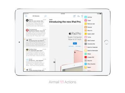 Airmail llega ahora al asalto del iPad (y se hace universal)