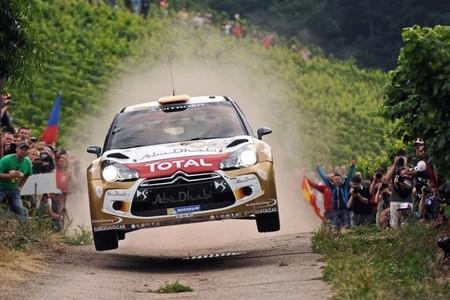 Dani Sordo recupera peso en Citroën tras su victoria en Alemania