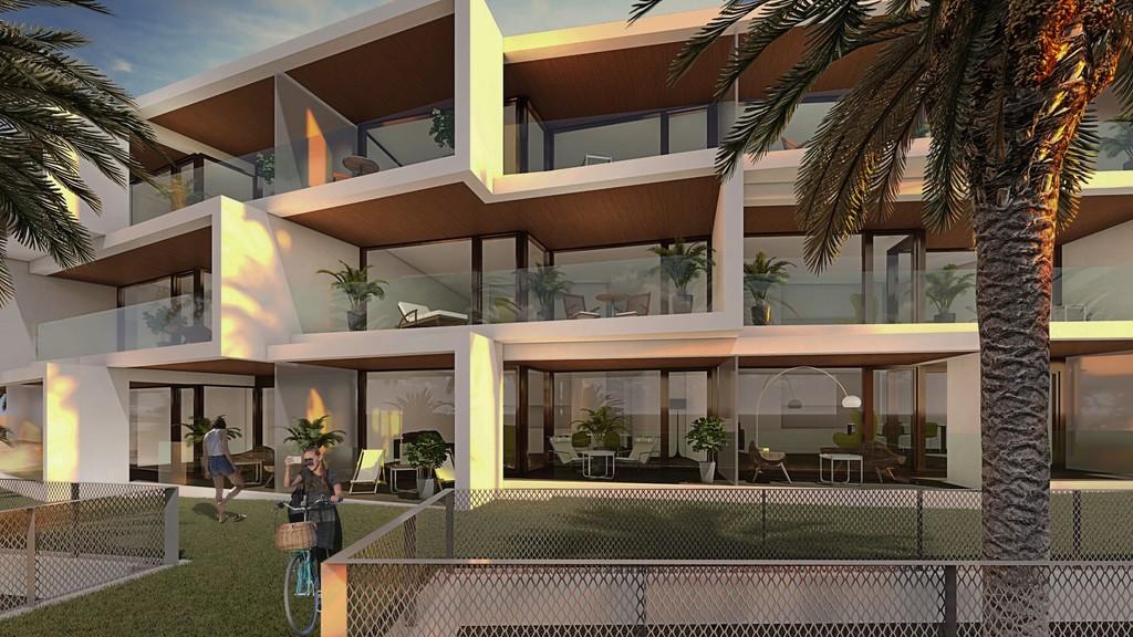 Edificaciones singulares y de calidad conceptual, con vistas al mar en la costa de Málaga