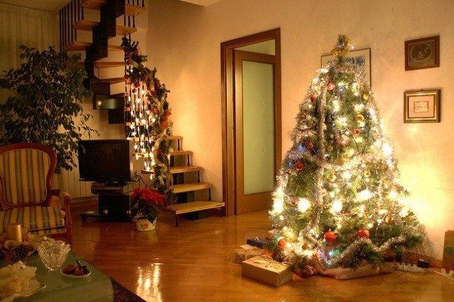 arboles de navidad niños