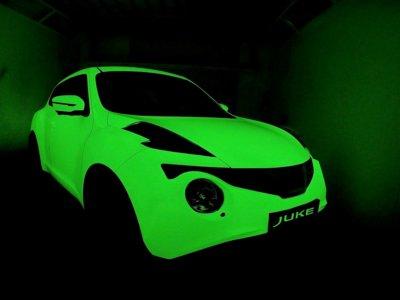 ¿Por qué este Nissan Juke brilla en la oscuridad?