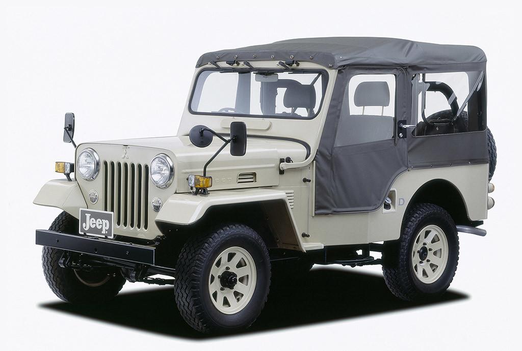 Mitsubishi Jeep 4