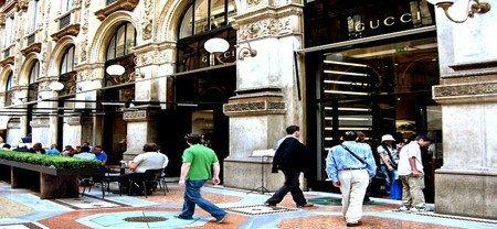 Café Gucci en Milán
