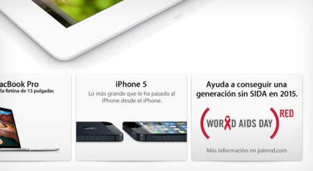 Apple apoya la lucha contra el SIDA