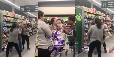 Video Women Fighting Toilet Paper