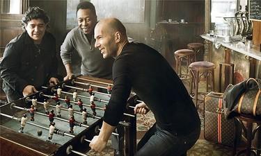 Maradona, Pelé y Zidane juntos para Louis Vuitton