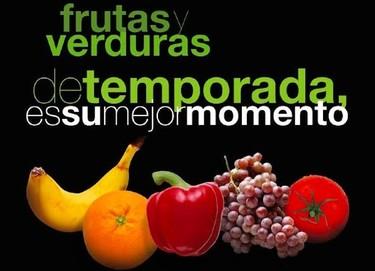 Frutas y verduras de temporada, todos los días