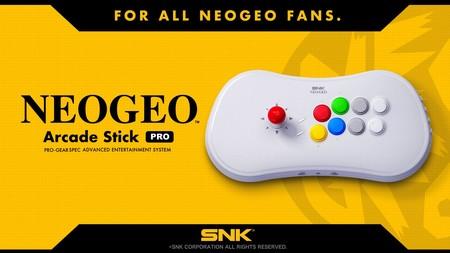 SNK anuncia el NeoGeo Arcade Stick Pro, una combinación de consola y mando de control