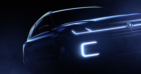Teaser Volkswagen SUV Salón de Pekín