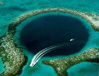 El Gran Cenote Azul de Belice