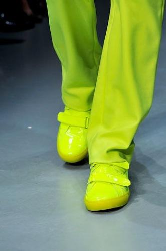 Calvin Klein zapatillas verde lima