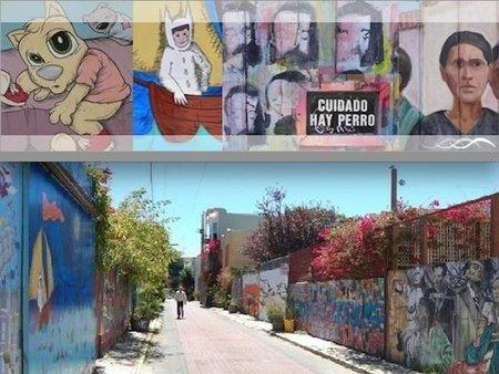 Balmy Alley, la calle de los murales en San Francisco