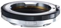 Un adaptador de Voigtlander nos permitirá usar lentes con montura M en cuerpos de tipo E