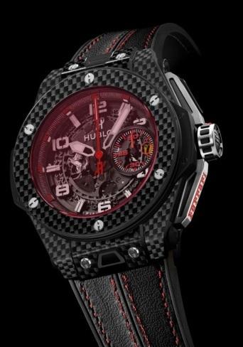 Hublot y Ferrari dan un paso adelante con la nueva colección de relojes Big Bang Ferrari