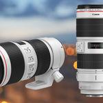 Canon EF 70-200 mm f2,8L IS III USM y EF 70-200 mm f4L IS II USM, renovación de dos teleobjetivos clásicos de la Serie L