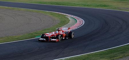Fernando Alonso, cuarto y primero del resto en el Gran Premio de Japón