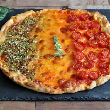 Pizza Fiesta italiana, la receta más fácil de pizza casera