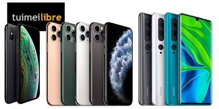 Las ofertas de la semana en tuimeilibre: chollos en iPhone 11 Pro, iPhone XS y Xiaomi Note 10 Pro