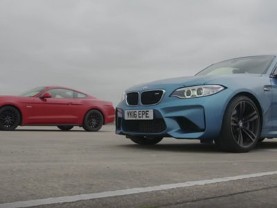 BMW M2 vs Ford Mustang. ¿Os apetece una drag race?