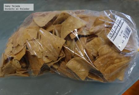 Bolsa de tortillas fritas comerciales c m d a