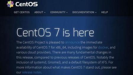 CentOS 7.0, la primera versión de la nueva era, ya está aquí