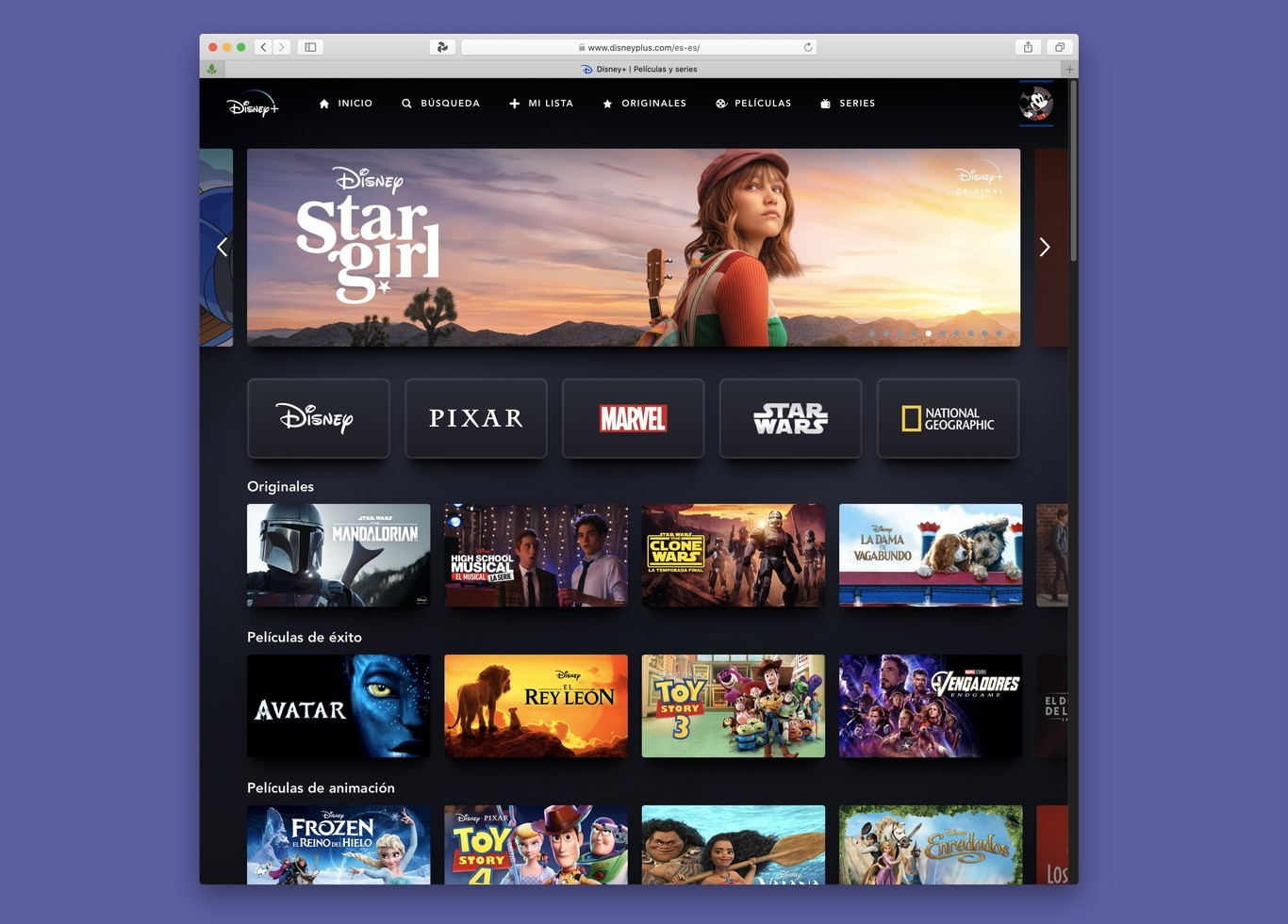 Star será la nueva plataforma de streaming de Disney para distribuir  internacionalmente ese contenido que no entra en Disney+