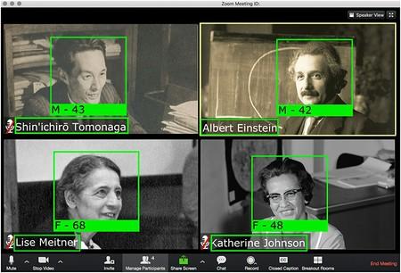 Las fotos de videollamadas que compartimos online permiten a la IA extraer información sobre nuestros contactos e identidades