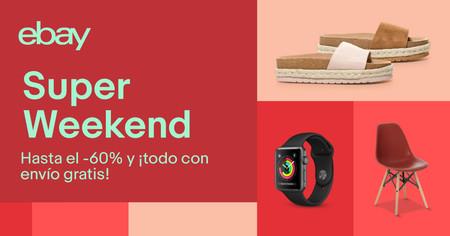 14 nuevas ofertas en el Super Weekend de eBay que lo hacen aún más súper