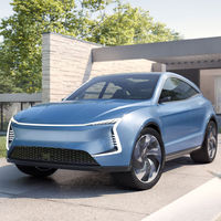 SF5 y SF7 son dos futuros SUV eléctricos de SF Motors, una empresa californiana de capital chino