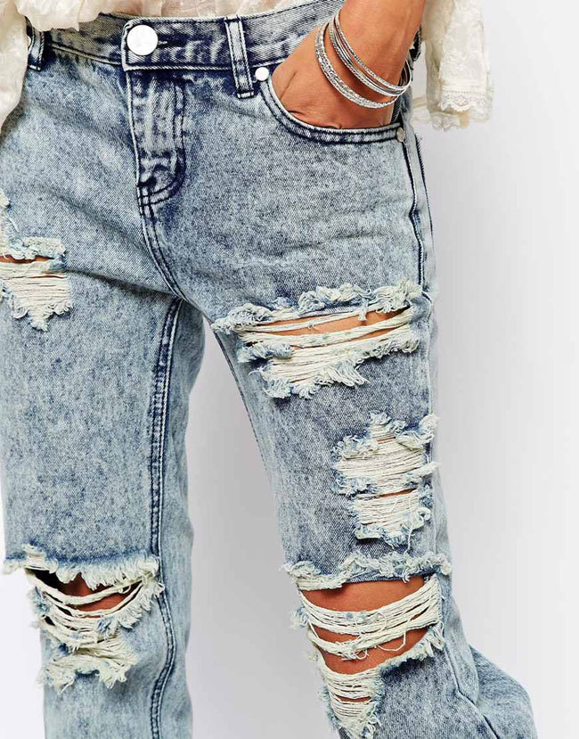 Si Esos Pantalones Rotos Que Tu Madre Tiraria Valen Mas De 100 Euros