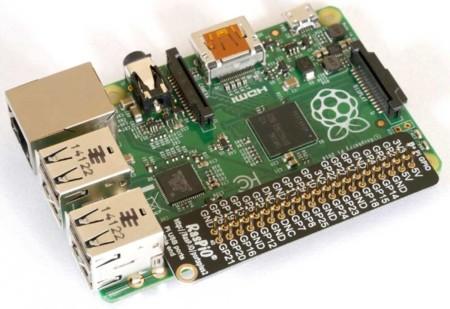 Detalle de los puertos de entrada y salida de propósito general de la Raspberry Pi