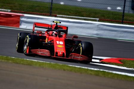 Leclerc Silverstone F1 2020