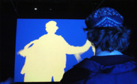 Videoplace, el abuelo artista de Kinect