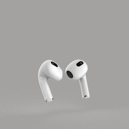 Apple Airpods 3 Renders