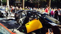 Un taxi convertido a GLP estalla en Barcelona, dejando heridos leves