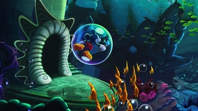 'Disney Epic Mickey: Power of Illusion'. Sus imágenes son amor