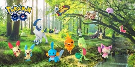 Los Pokémon de la tercera generación comenzarán a aparecer esta semana en Pokémon GO