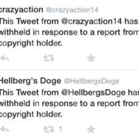 Así se ven los mensajes que Twitter está empezando a borrar por plagio. La imagen de la semana