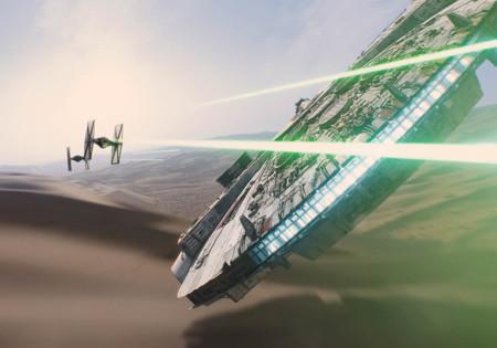Halcon Milenario Star Wars El Despertar De La Fuerza