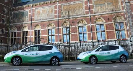 Taxi Electric añadirá el Nissan e-NV200 a su flota