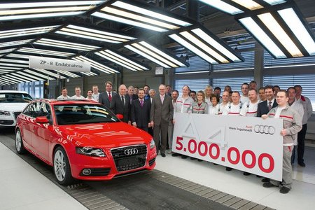 Audi A4, más de 5.000.000 de unidades vendidas